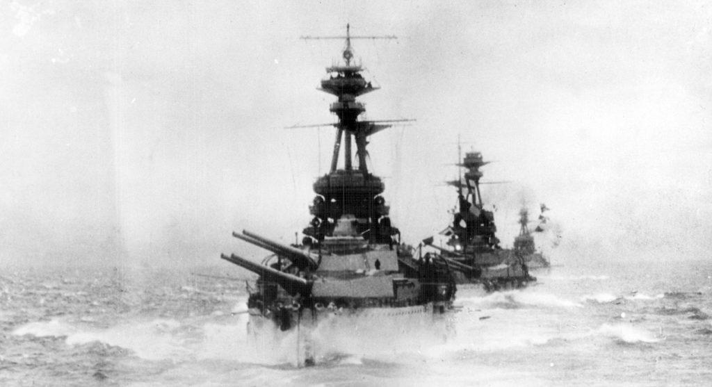 HMS Benbow, Iron Duke-class dreadnought
