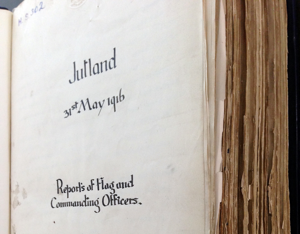 Jutland: Reports of Flag and Commanding Officers (National Archives ADM 137/302)